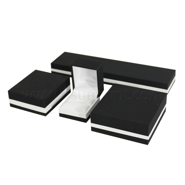 Black Color Jewelry Packaging Box