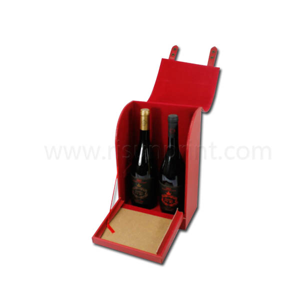 Double Bottle Wine Boxes For Sale