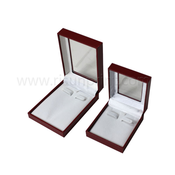 Clear Window Jewelry Box For Long Necklaces