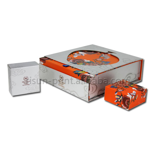 Foldable Paper Mooncake Box