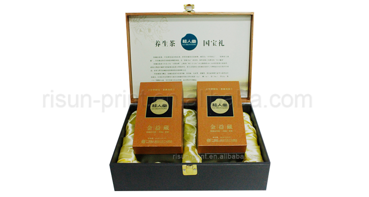 Paper packaging tea box