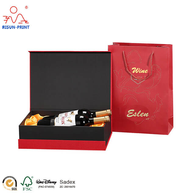 Wine Glass Gift Box With Foam