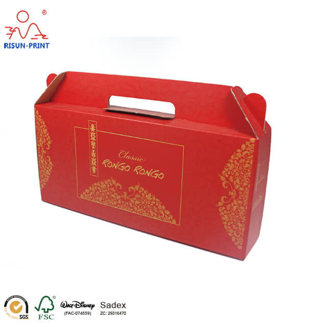 Cardboard Wine Packing Box