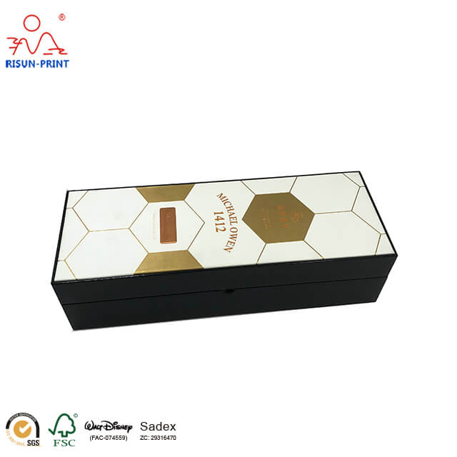 Book shaped wine gift Box