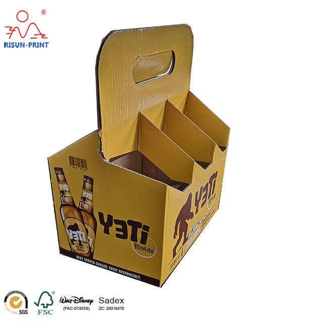 Open Style Wine Bottle Carriers Wine Box