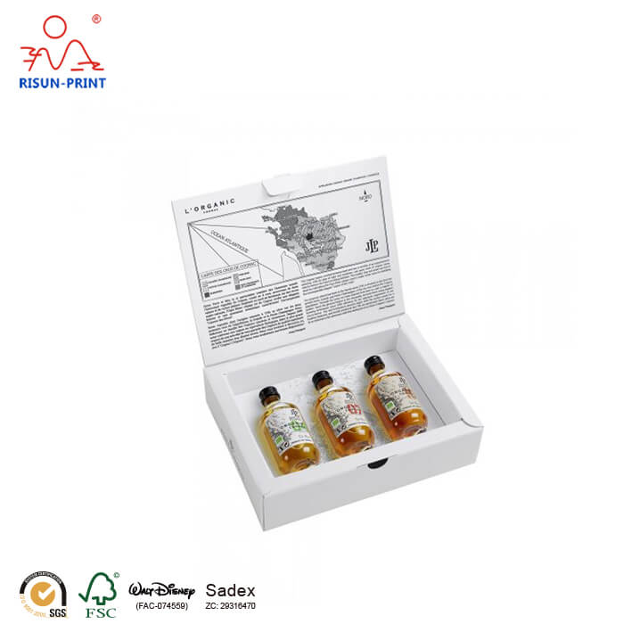 Cognac Gift Box Triple Box Set