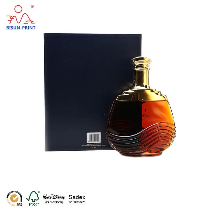 Martell wine box packaging