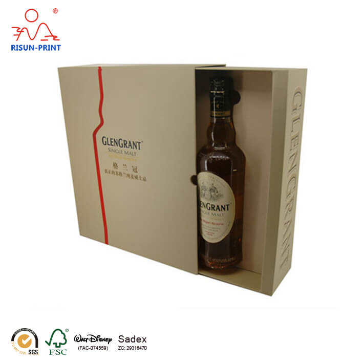 Whisky Paper Wine Boxes