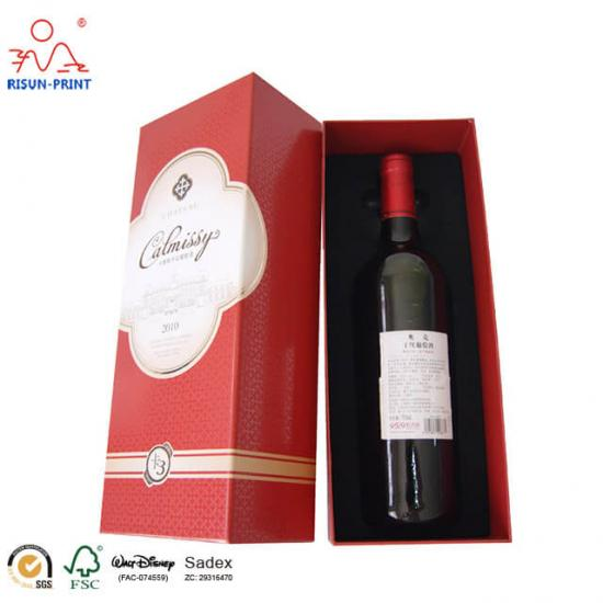 Paper Packing Wine Box