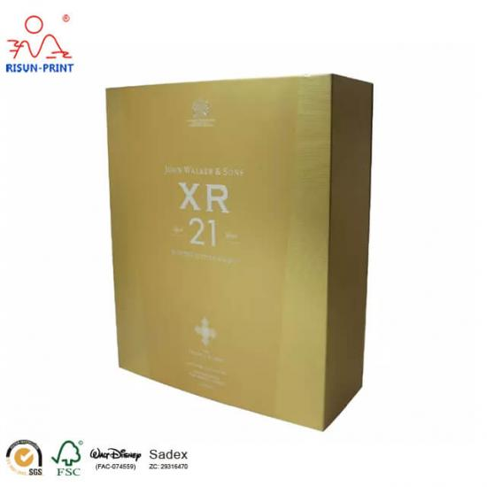 Brandy Packaging Paper Box