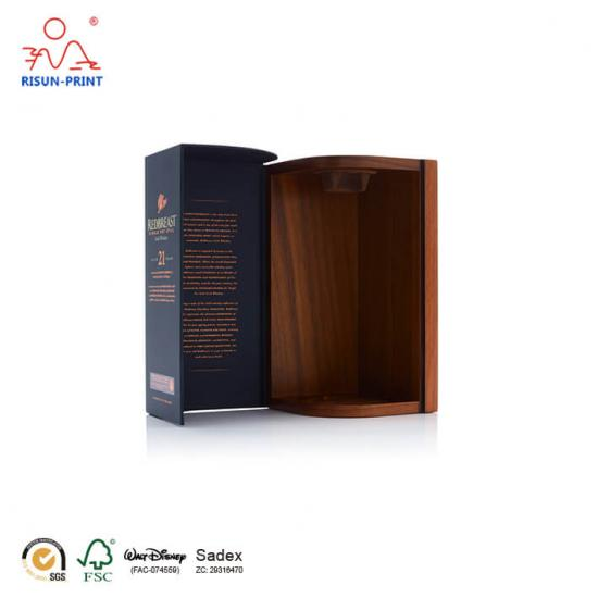 Whiskey Packaging Wooden Box