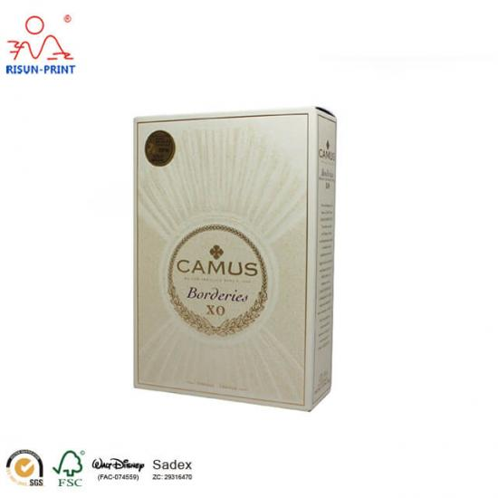 Camus XO gift box packaging