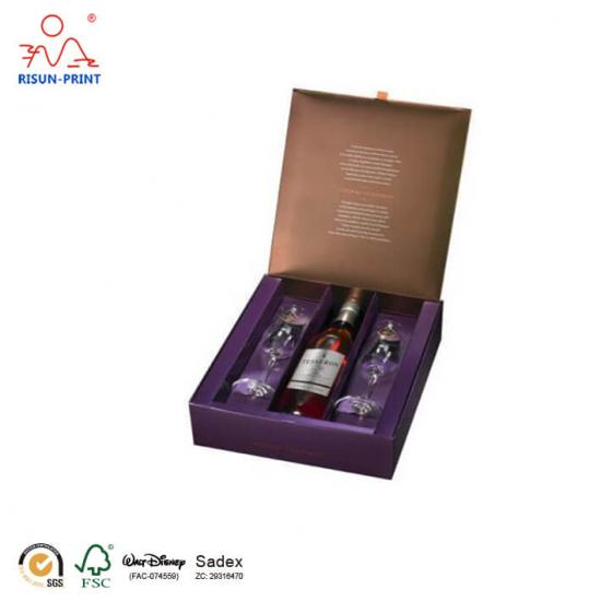 Perfection gift box set coñac
